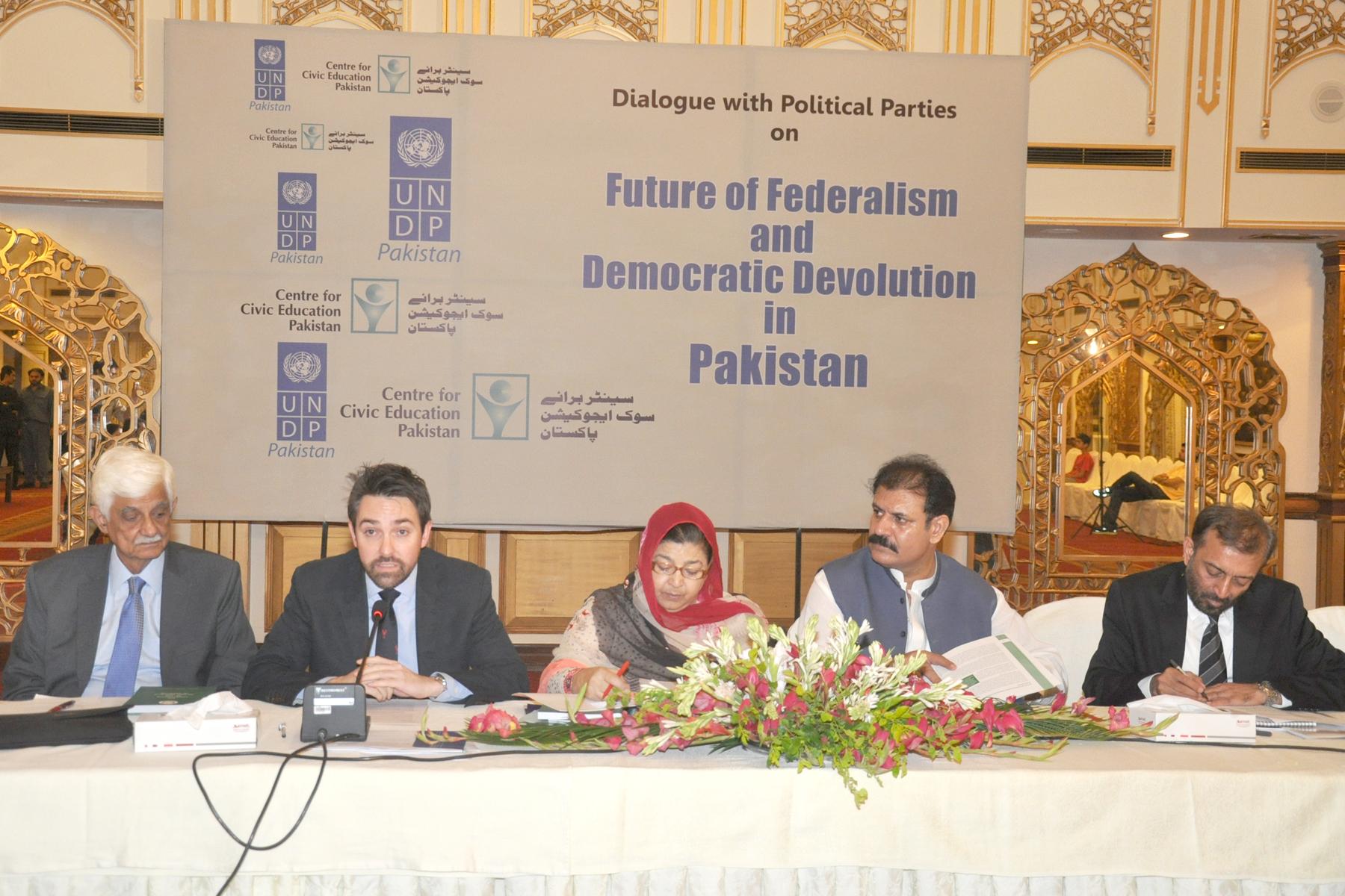 Leaders vow to vanguard Democratic Devolution