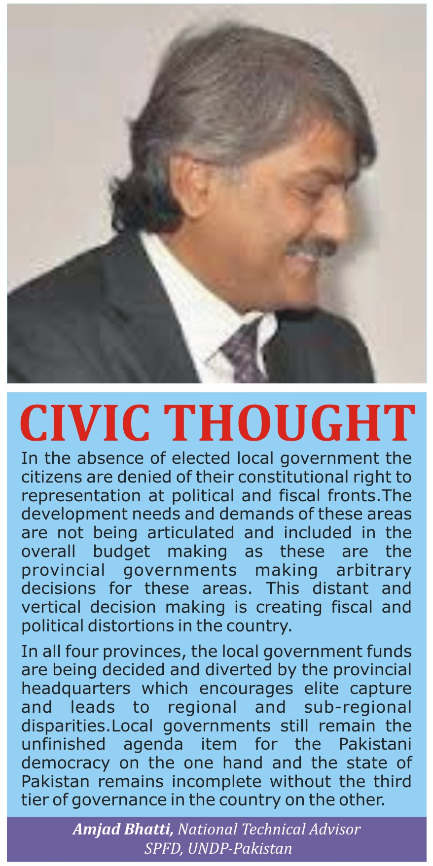 Civic Thought