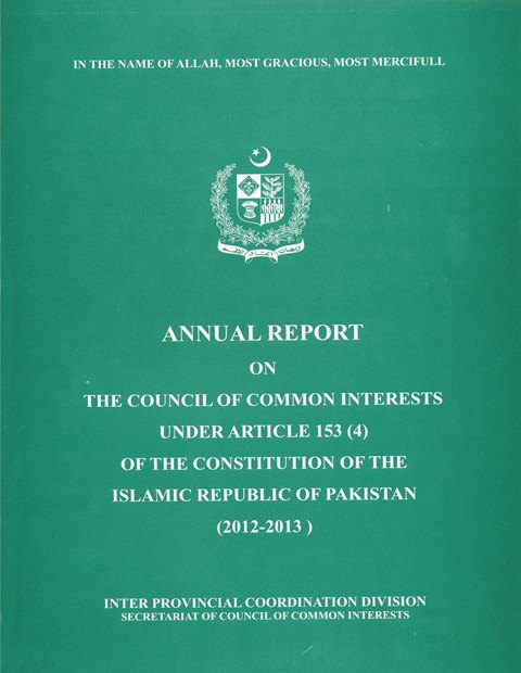 Annual Reports of the Council of Common Interests: An Analysis
