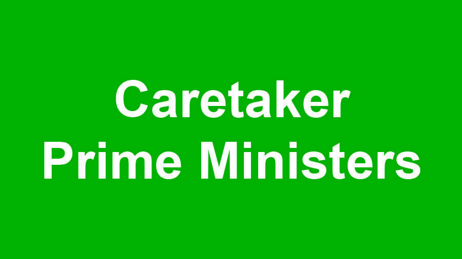 Historic Overview of Caretaker Governments in Pakistan