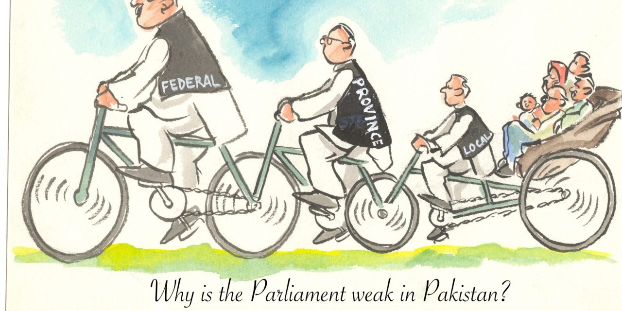 Why is the Parliament weak in Pakistan?