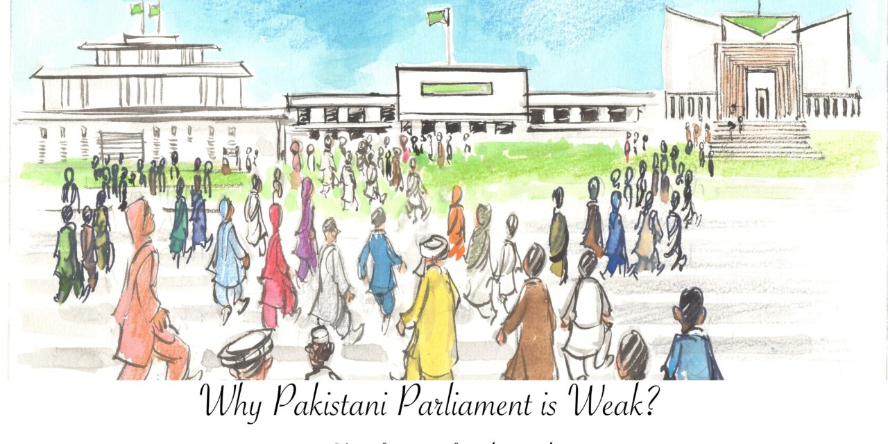 Why Pakistani parliament is weak?