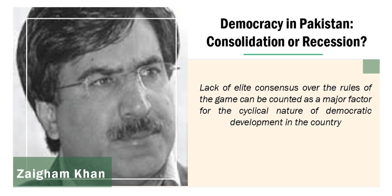Democracy in Pakistan: Consolidation or Recession?