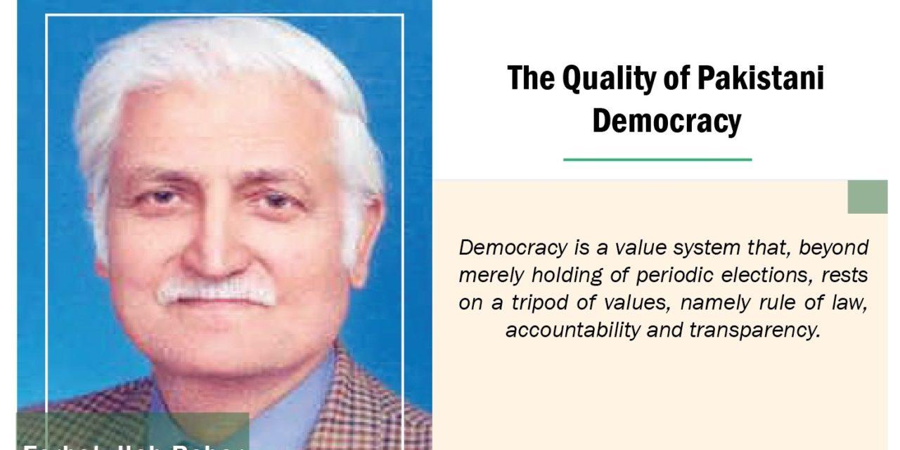 The Quality of Pakistani Democracy