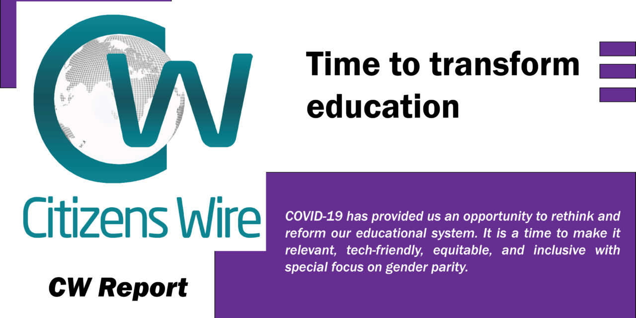 Time to Transform Education