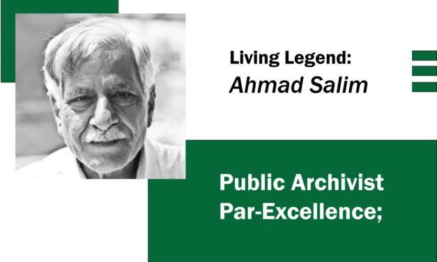 Public Archivist Par-Excellence; Ahmad Salim